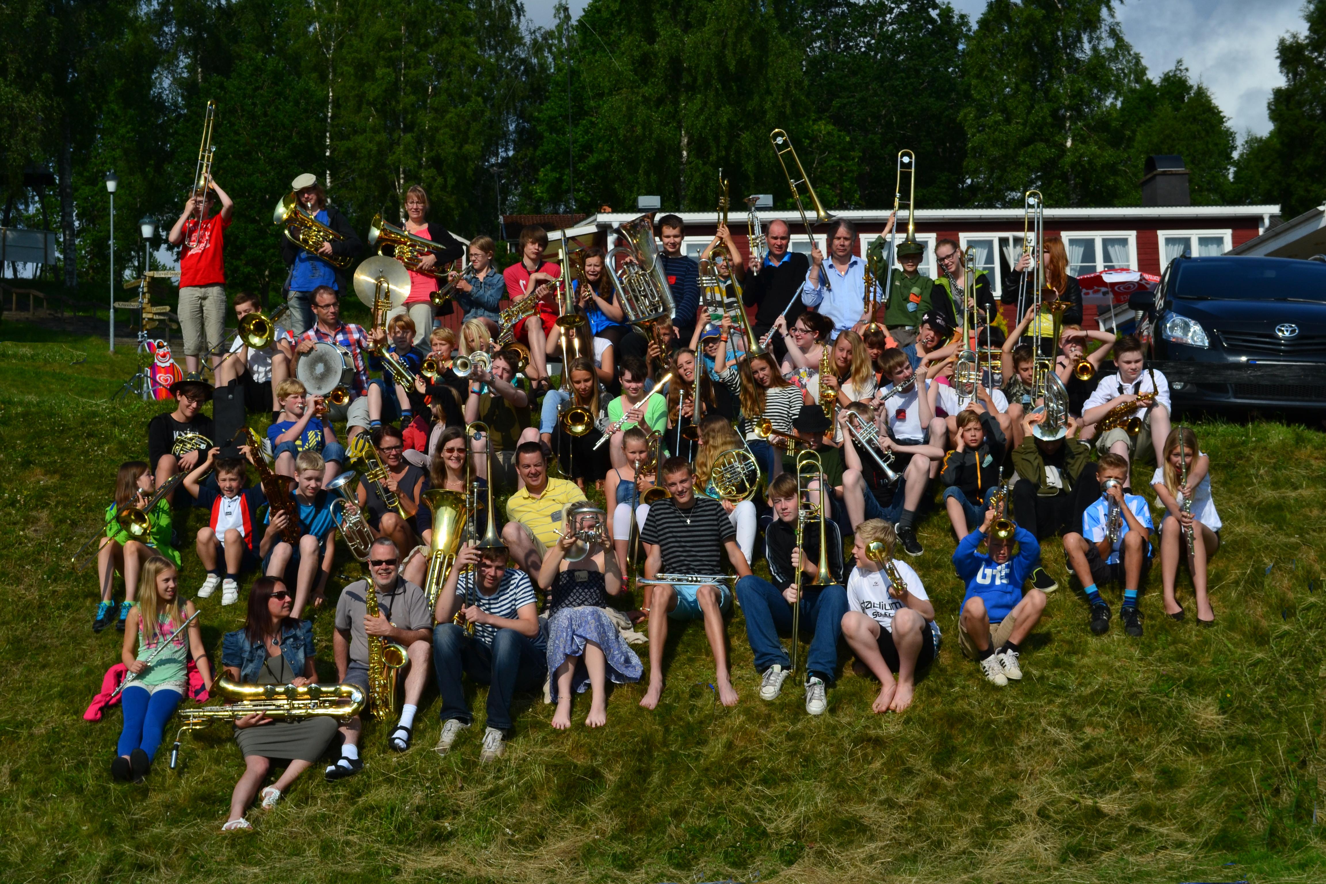 Sommarmusikskola - blåsarläger