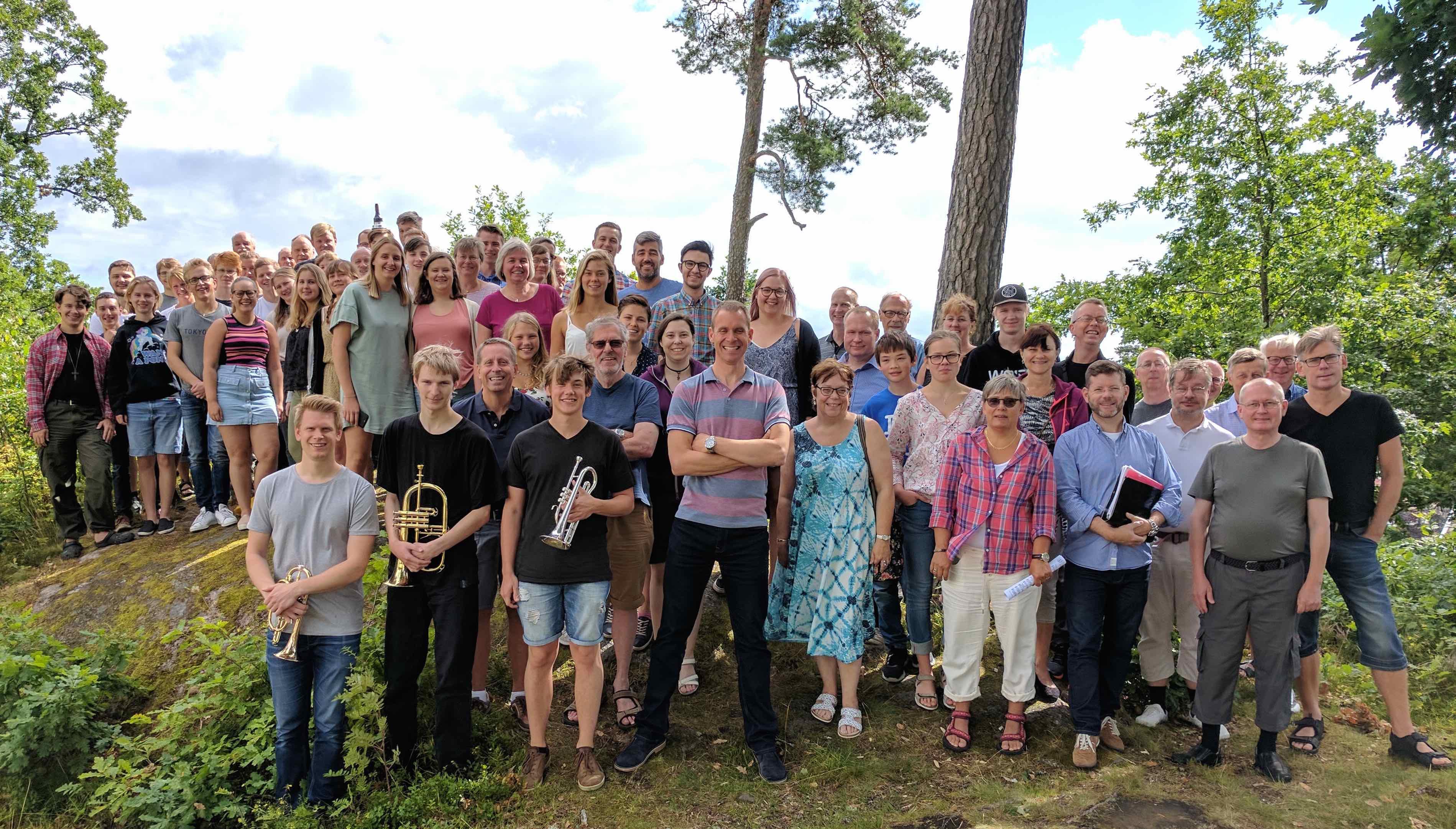 Sommarmusikskola - Brassläger på Södra Vätterbygdens Folkhögskola i Jönköping