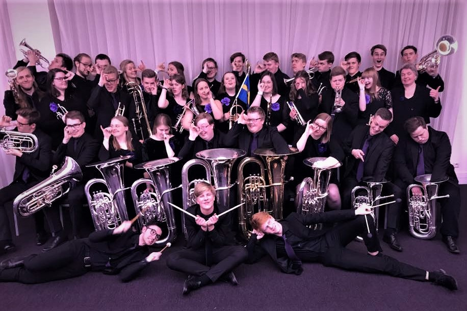 SYBB – Swedish Youth Brass Band på Brass-EM