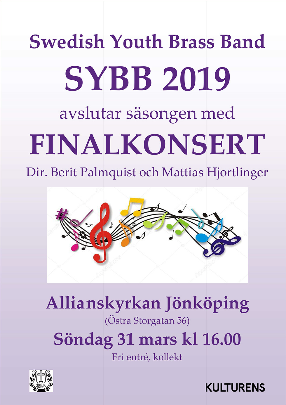 Swedish Youth Brass Band ger finalkonsert